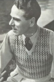 Vintage photo of a man.